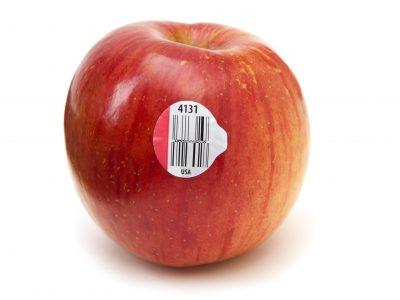 Trazabilidad alimentos manzana