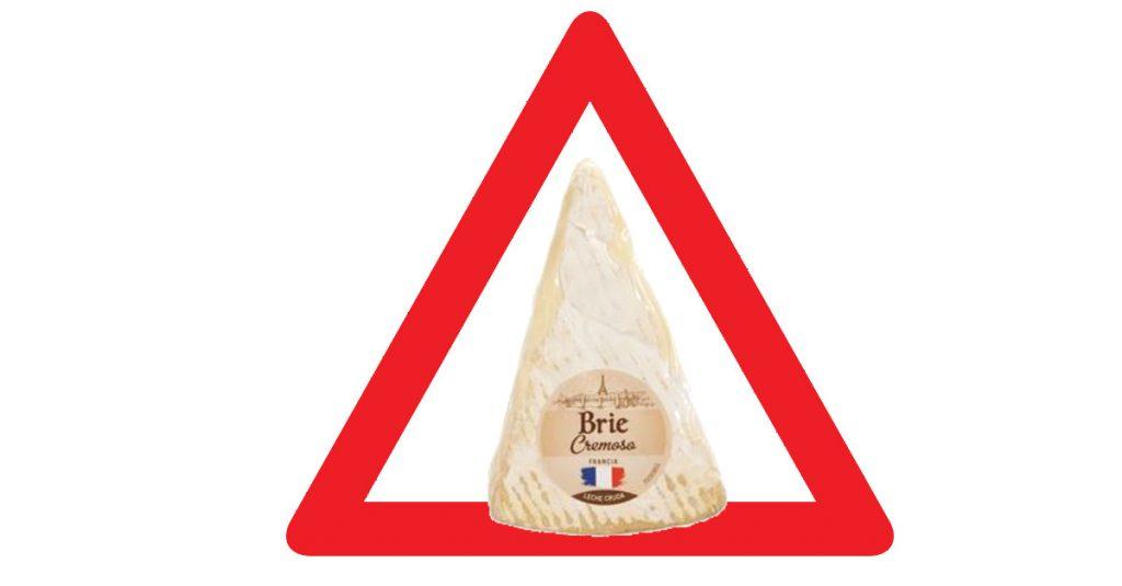 Alerta queso brie